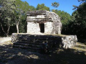 Maya Ruinen von San Gervasio