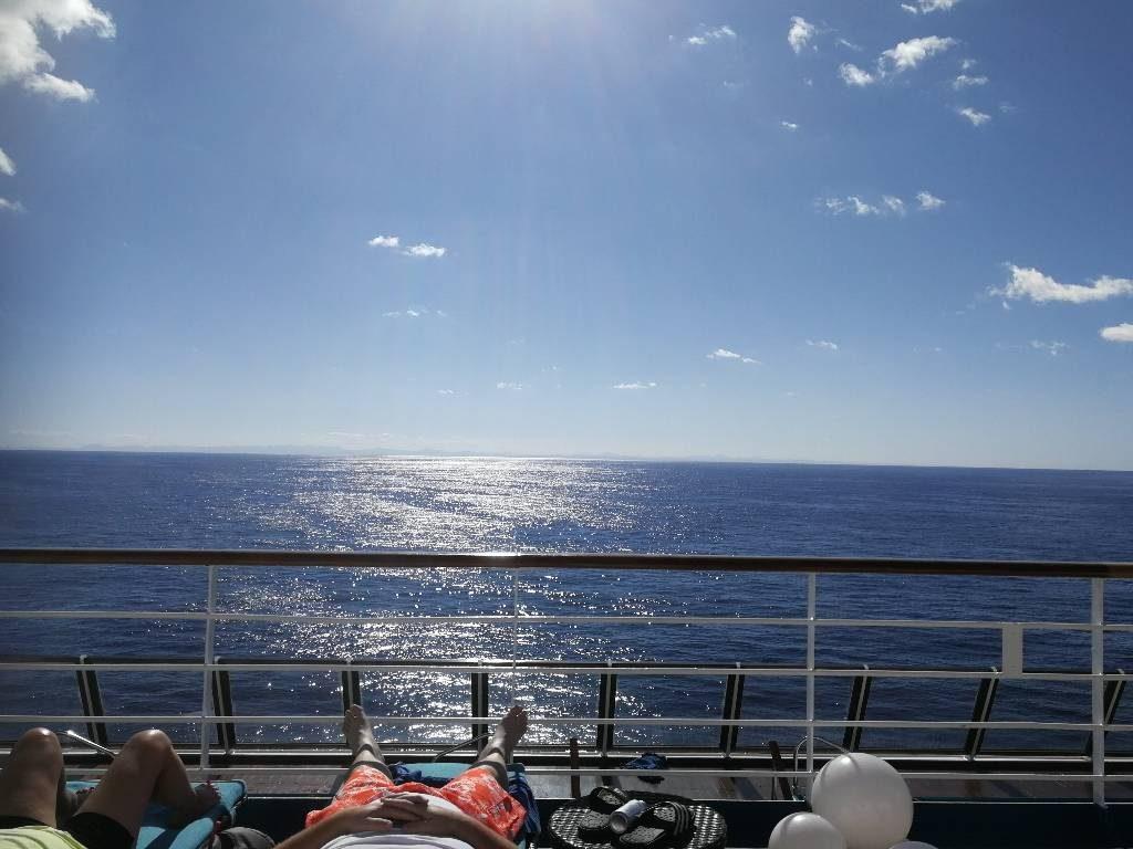 Klare Sicht bis nach Kuba.