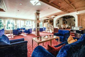 Gemütliches Ambiente in der Lounge.
