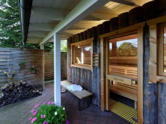Die Wellness-Sauna im Ringhotel Sellhorn.