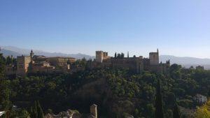 Abwechslungsreiche Landschaft in Andalusien.