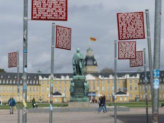 Karlsruhe - Residenz des Rechts.