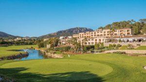 """Direkt am Hotel liegt der18 Loch Golfplatz """"Golf de Andratx"""""""