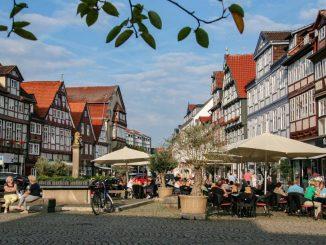 Celle hat sich den Charme einer Fachwerkstadt erhalten.
