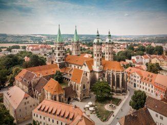 Luftbild Naumburger Dom