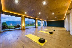Der Yogaraum.